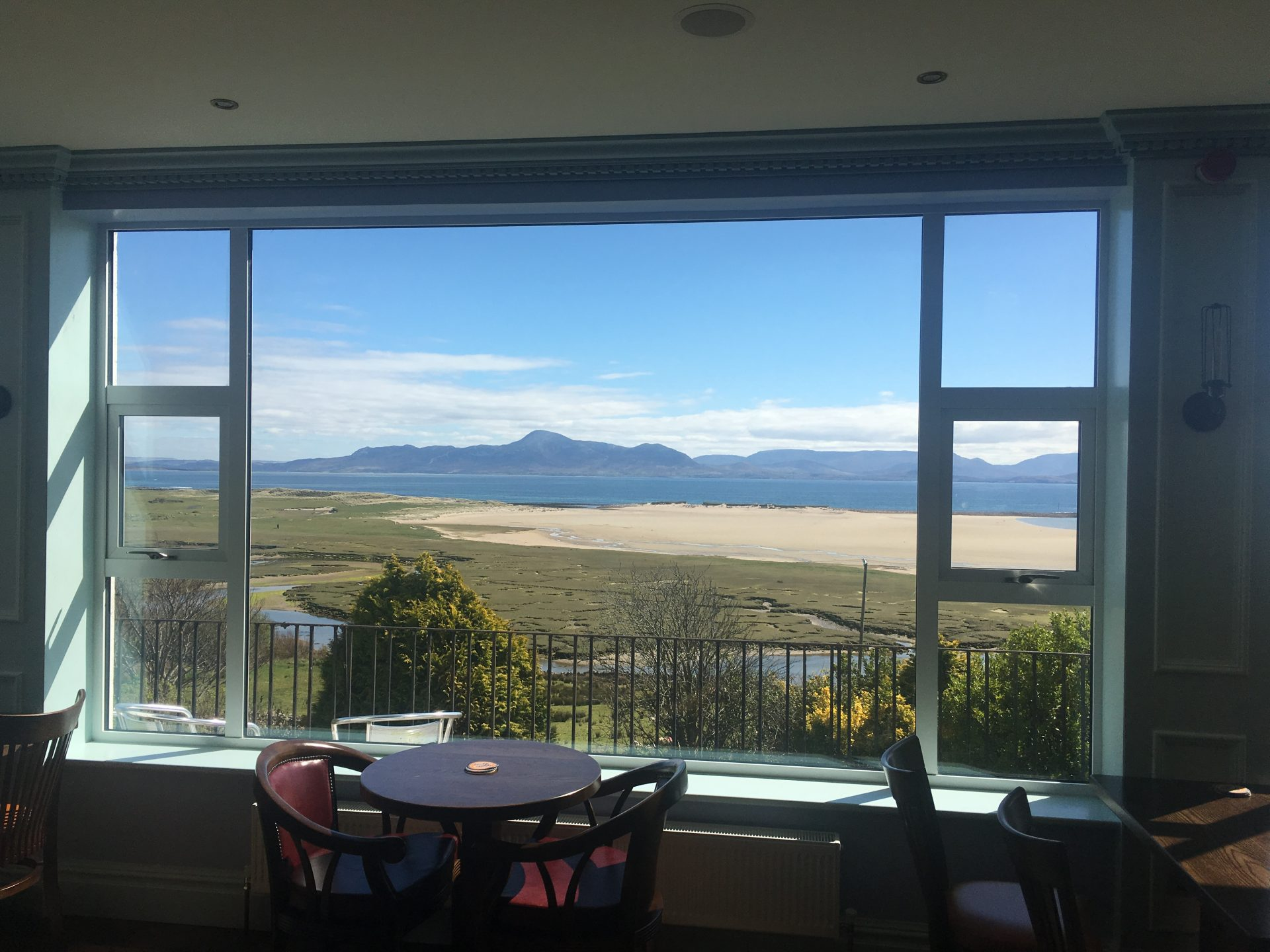View from inside McLoughlins Mulranny