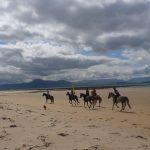 Pony trekking in Mulranny