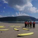 Learn to surf at Keel beach